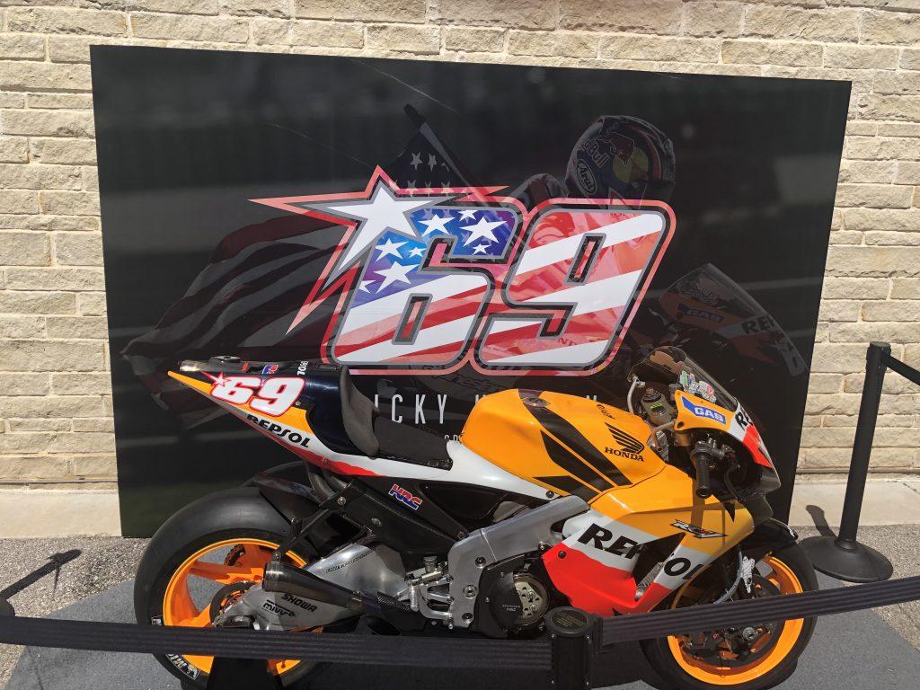 Nicky Hayden's bike at COTA 2019