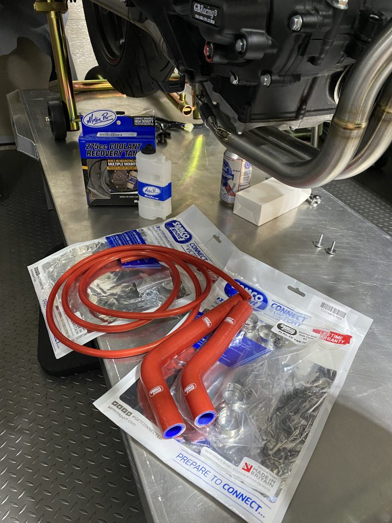 New Samco hoses for the R3